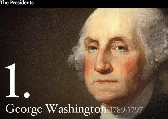 biography of george washington the first president of the united states the commander in chief of th